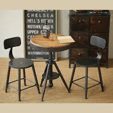 small table with chairs zhengtian home minimalist industrial style wood small table and