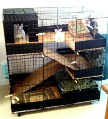 Home Made Rabbit Hutches Diy Indoor Bunny Condo Cage This Is The Cage I Built My Rabbit