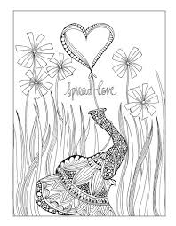 elephant love coloring page spread love elephant coloring page elephant coloring pages for
