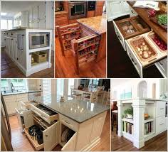Clever Kitchen Ideas 39 Clever Kitchen Island Designs With Storage