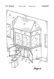 patent us5458287 prefabricated bay window conservatory enclosure