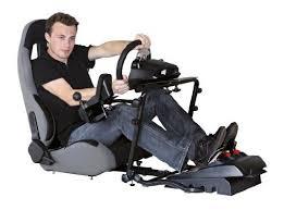 siege volant pc siège baquet avec supports pour volant levier de vitesse et