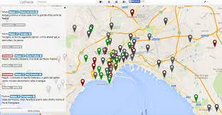 Napoli Map by Listfeeds Notizie Delle Tue Vie Piazze E Quartiere