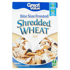 Breakfast Food Cereal Walmart Com by Great Value Bite Size Frosted Shredded Wheat Cereal 24 Oz