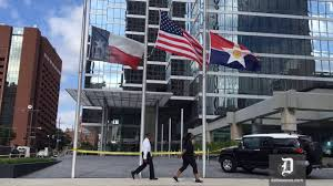 When Should The American Flag Be Flown At Half Mast Flags Flown At Half Staff At Bank Of America Plaza Youtube