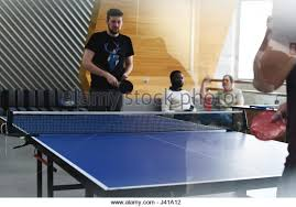 Table Tennis Boardroom Table Colleagues Playing Table Tennis Stock Photos U0026 Colleagues Playing