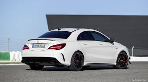 mercedes 45 amg white 2017 mercedes amg 45 coupé with aerodynamics package chassis