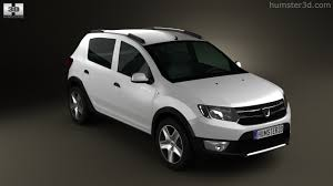 renault sandero stepway 2013 360 view of dacia sandero stepway 2013 3d model hum3d store