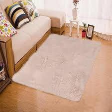Area Rug Mat Soft Shaggy Square Carpet Area Rug Mat Fluffy Non Shed