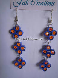 cardboard earrings handmade jewelry paper quilling earrings 2 these flickr