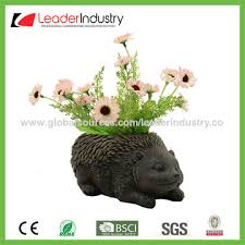 Statue For Garden Decor China Polyresin Snail Statue With Flower Pots For Home And Garden