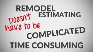 Home Construction Estimating Spreadsheet Remodel Cost Estimating Spreadsheet Software Youtube