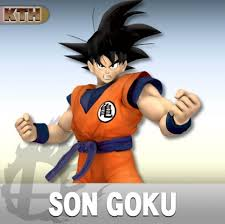 son goku super smash bros wii skin mods