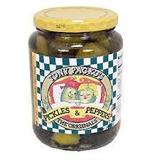 packo pickles tony packo pickles peppers original 24 oz 4 pack