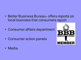 bureau of consumer affairs consumer powers and protections ppt