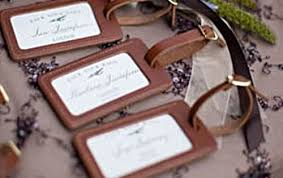 wedding luggage tags custom leather luggage tags