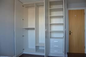 Hinged Wardrobe Doors Hacienda White 3 Doors Canary Wharf E14