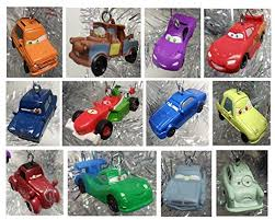 cars 2 mini tree ornament set 12