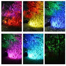 color changing outdoor lights outdoor color changing solar lights set of 20 outdoor designs