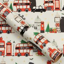 christmas wrapping paper sale london 3m christmas roll wrapping paper 3 for 2 christmas
