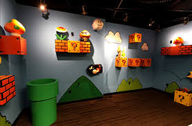 Super Mario Decorations Amusing Mario Room Decor Furniture Decor Ideas Kitchen At Mario