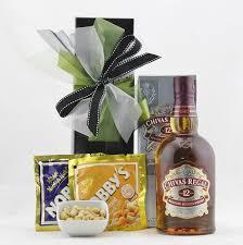 Scotch Gift Basket Gift Hampers For Men Chivas Scotch Whiskey