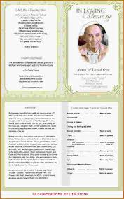 templates for funeral program free funeral program
