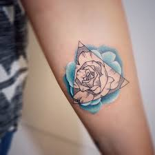 geometric flower tattoo tattoo collections