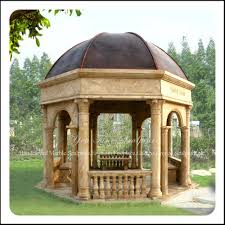 Gazebo Patio Ideas by Backyard Stone Gazebo Interiors Design