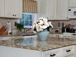 White Glass Tile Backsplash Kitchen Kitchen Countertops Options Two Wooden Bar Stool On Wooden Floor