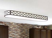 Fluorescent Ceiling Light Fixtures Kitchen | how to replace fluorescent lighting with a pendant fixture