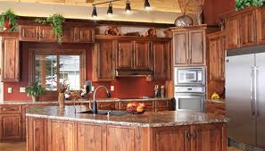 Rustic Hickory Kitchen Cabinets Rustic Hickory Cabinets Woodland Rustic Plank Hickory Natural