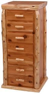 Cedar Log Bedroom Furniture by Cedar Log Lingerie Chest 7dlc Minnesota Cedar Log Bedroom