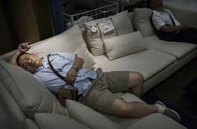 chinese shoppers napping at ikea business insider