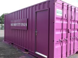 container conversion bespoke pink container conversion