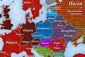 how do you say map in how to say easter in every european language indy100