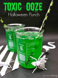 it u0027s halloweek toxic ooze halloween punch mad scientist party