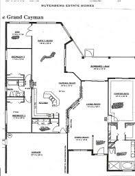 single family home floor plans