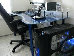 Pc Desk Ideas Gaming Pc Desks Futuristic Gaming In A Desk Project Alternate Cool