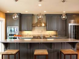 Two Color Kitchen Cabinets Kitchen Design Magnificent Refinishing Kitchen Cabinets Grey