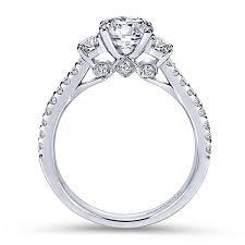 3 engagement ring three diamond rings 3 stones engagement rings gabriel co