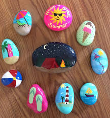 35 diy ideas of painted rocks rock collection rock and beach