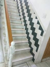 marble stairs agriya white marble staircase at rs 24 square feet marble