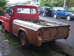 Antique Ford Truck Club - 1956 international pick up with a ford 6 cyl inline engine cars
