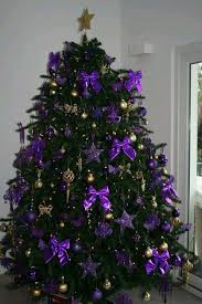 purple christmas tree purple christmas time for the holidays