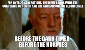 Thoughtful Memes - thoughtful obi wan kenobi imgflip