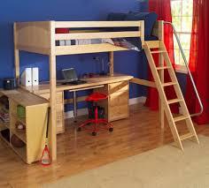 Loft Bed Set Loft Bed With Desk Underneath Plant Corner Ladder Combined Compact