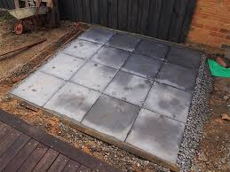 How To Lay Pavers For Patio Exterior How To Lay Pavers With Square Pavers And Wood Fence