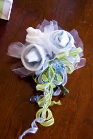 Baby Sock Corsage How To Make A Baby Shower Corsage Out Of Socks Part 36 Baby Boy