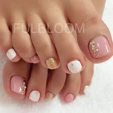 awesome 60 cute u0026 pretty toe nail art designs gold nail art
